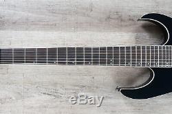 Ibanez RG2027XL Prestige 7-String Electric Guitar, Dark Tide Blue