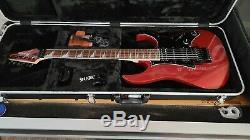 Ibanez RG550DX Genesis 6 String Electric Guitar (Ruby Red)