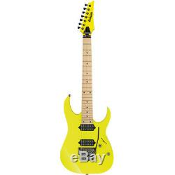 Ibanez RG752M 7-String Electric Guitar with Case Desert Sun Yellow, New