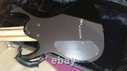 Ibanez RG9 Black Gloss 9-string, OHSC, hard case, extended range guitar, ERG