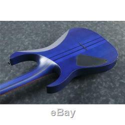 Ibanez RGRT621DPB RG Standard 6-String Electric Guitar, Blue Lagoon Burst Flat
