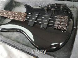 Ibanez SDGR SR300 Soundgear 4-String Black Bass Guitar With Hardcase Near Mint