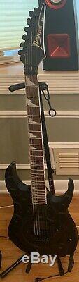 Ibanez rg420eg 2008 spider black 6 string guitar