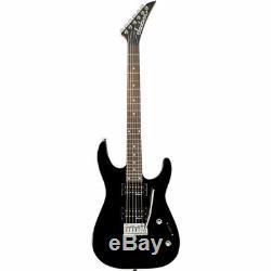 Jackson JS12 Dinky 6-string 24 fret Electric Guitar Black, New