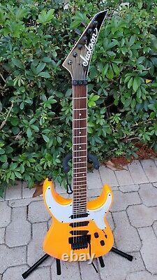 Jackson X Series Soloist SL4X 6-String Electric Guitar Neon Orange