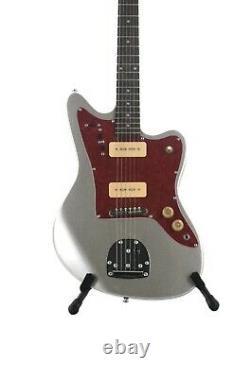 Jazzmaster Style Guitar Silver 6 String Brand New