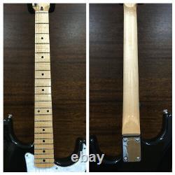 Kapok Gloss Black Electric Guitar, SSS+Free Gig Bag, Extra Strings, Strap KA-ST/BK