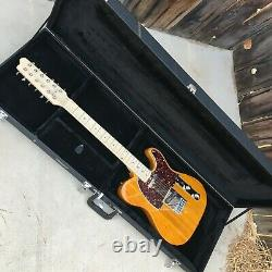 Long Live The King! Blonde-on-Blonde 12-String Solid-body! Wired! Full Power