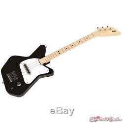 Loog Pro 3-Stringed Solidbody Electric Guitar Black