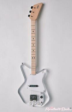 Loog Pro LGPREL Lucite 3-Stringed Solidbody Electric Guitar