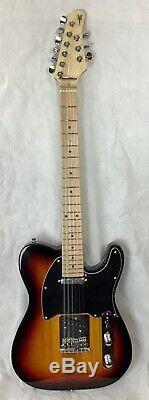 MORTone 9 string (3x2+3) telecaster style guitar Sunburst