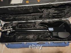 Music Man Bongo 5 String HH Black VGC With Case