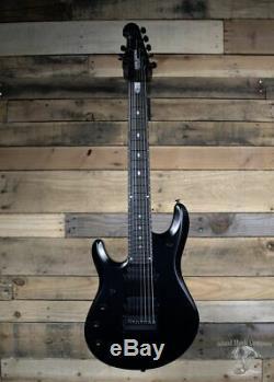 Music Man John Petrucci 7-String Left Handed Electric Guitar Matte Stealth Black