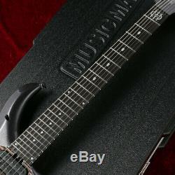 NEW 2020 MUSIC MAN Majesty 7 String Smoked Pearl Electric Guitar Ebony FB