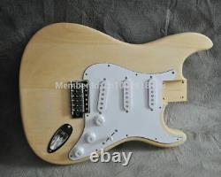 New 6 String Slab Maple Fretboard St-caster Style Electric Guitar Builder Kit