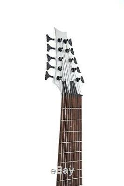 New Arrival Silver 10 Strings Electric Bass Guitar Basswood Body Music Lover
