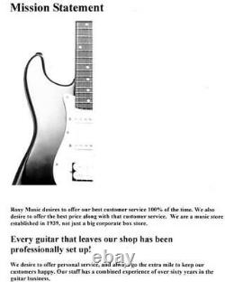New Ibanez EHB1000 Headless 4 String Electric Bass Guitar Pearl White Matte wGig