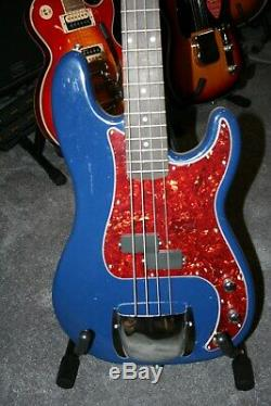 Precision P-Bass Style 4 String Electric Bass + Fender/Squier Hardware & Gig Bag