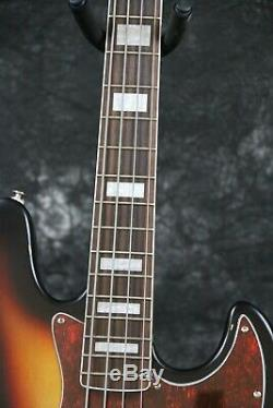 Relic 4 strings Jazz Electric Bass Guitar Basswood Standard Style