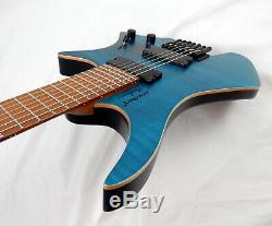 STRANDBERG Boden Standard 7-String Flame Blue Guitar Roasted Maple, Multi-Scale