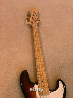 SX Traditional Series 4 String Precision Electric Bass Sunburst