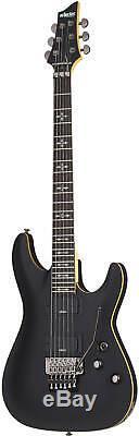 Schecter Demon-6 FR Electric 6 String Guitar Aged Black Satin