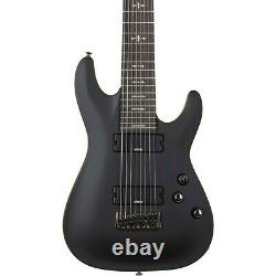 Schecter Guitar Research Demon-8 8-String Electric Guitar Satin Aged Black