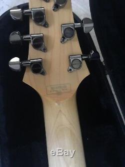 Schecter Guitar Research SGR C-7 7-String Electric Guitar Silverburst OHC Case