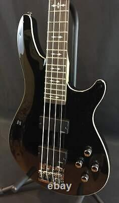 Schecter Omen-4 4-String Bass Guitar Gloss Black