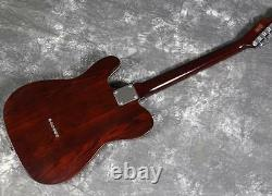 Starshine Custom Electric Guitar Vintage Tuner Strings Thru Body ASH Maple