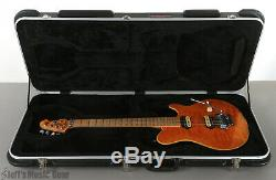 Sterling AX40 6-string Solidbody Electric Guitar with Case Transparent Gold