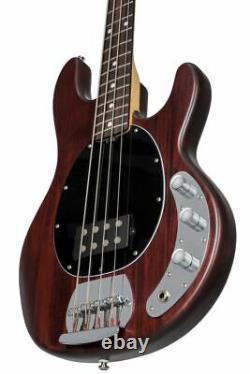Sterling SUB 4 String StingRay Walnut Satin Bass Guitar RAY4-WS-R1