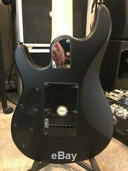 Sterling by Music Man John Petrucci JP70 Electric Guitar 7 String Stealth Black