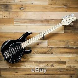 Sterling by Music Man S. U. B. Series StingRay5 Ray5-BK 5-String Bass Guitar Black