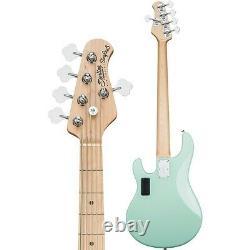 Sterling by Music Man S. U. B. StingRay5 5-String Electric Bass Mint Green