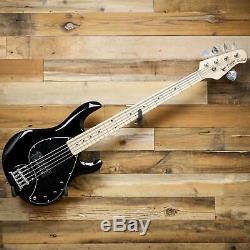 Sterling by Music Man S. U. B. StingRay5 Ray5-BK 5-String Electric Bass Black