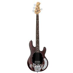 Sterling by Music Man SUB Series Ray4 4-String Electric Bass Walnut Satin