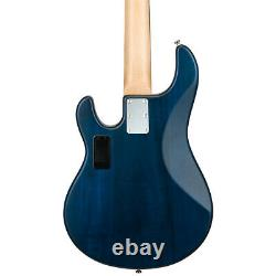 Sterling by Music Man SUB Series Ray5 5-String Electric Bass Trans Blue Satin