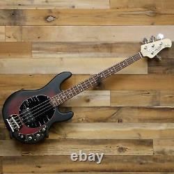 Sterling by Music Man StingRay 4-String Electric Bass Ruby Red Burst Satin