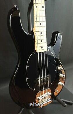 Sterling by Music Man StingRay RAY4 4-String Bass Guitar Gloss Black