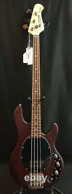 Sterling by Music Man StingRay RAY4 4-String Bass Guitar Walnut Satin
