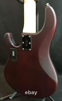 Sterling by Music Man StingRay RAY5 5-String Bass Guitar Walnut Satin