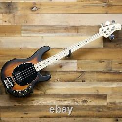Sterling by Music Man StingRay Ray4 4-String Bass Guitar Vintage Sunburst Ray-4