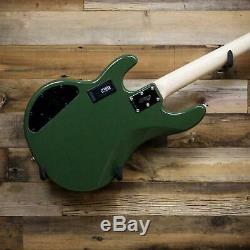 Sterling by Music Man StingRay Ray4-HH 4-String Bass Guitar Olive Green Ray4HH