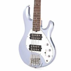 Sterling by Music Man StingRay5 HH 5-String Lake Blue Metallic