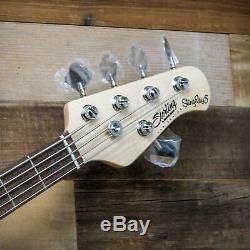 Sterling by Music Man StingRay5 Ray5HH 5-String Bass Lake Blue Metallic Ray5-HH