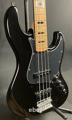 Tagima TJB-4BK Classic Series 4-String Bass Guitar Gloss Black