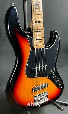 Tagima TJB-4SB Classic Series 4-String Bass Guitar Vintage Sunburst