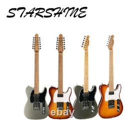 Top Quality Starshine New Arrival TL Style Electric Guitar Roasted Maple Neck