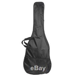 US GTL Electric Guitar Maple Fingerboard 6 Strings Free Gig Bag Strap Pick Yelow